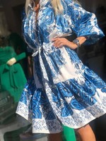 Сатенирана рокля
