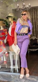 Панталон в лилаво