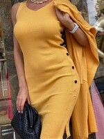 Комплект в жълт цвят