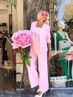 Рипсен сет в розово