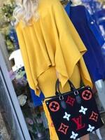 Комплект рокля и пончо