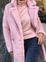 Палто Teddy Bear в розово