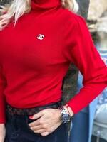 Поло лукс в червено