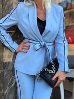 Стилен комплект в синьо