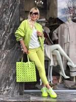Панталон в ярко зелено