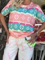 Цветна блуза 8