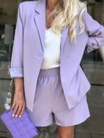 Летен комплект в лила