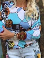 Цветна блуза 13