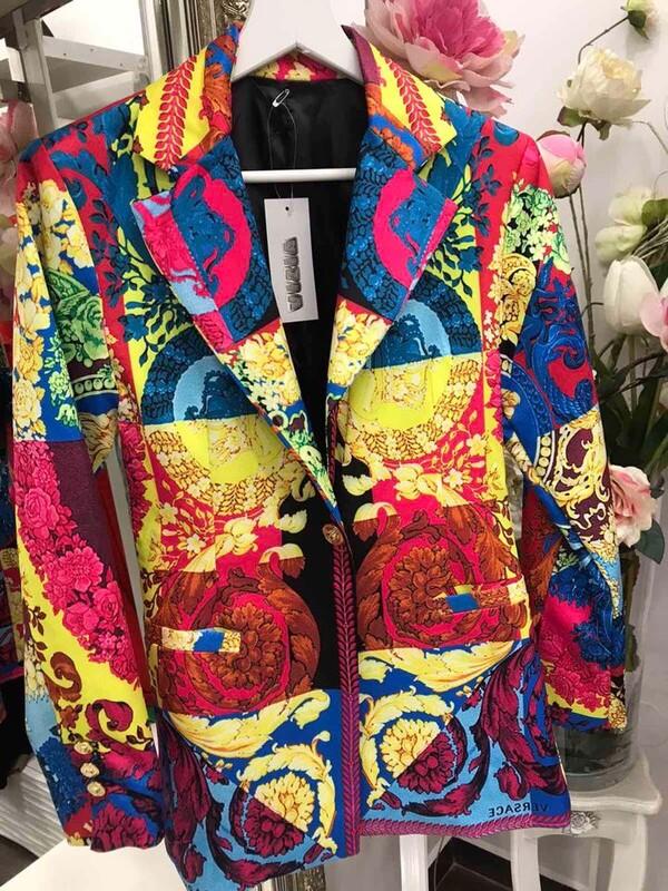 Многоцветно сако