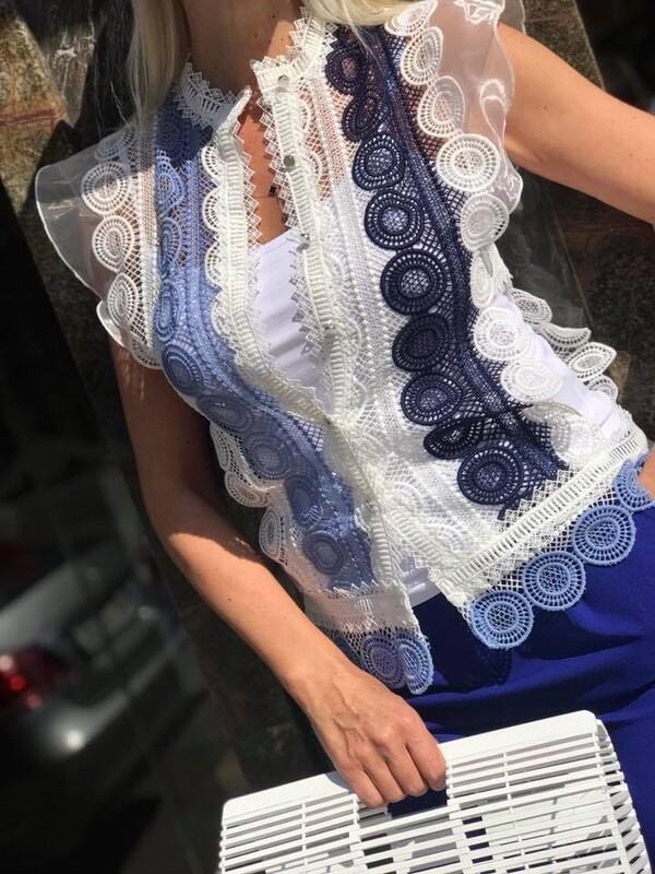 Риза от дантела