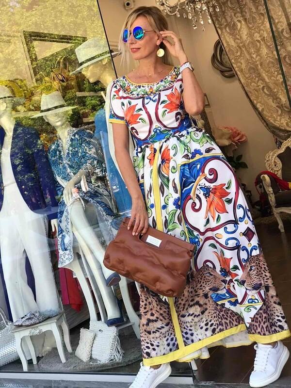 Дълга рокля Capri
