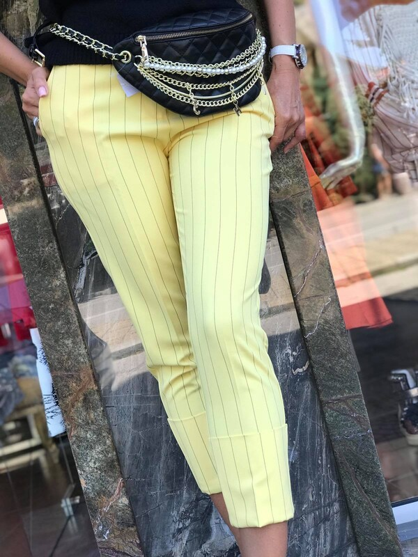Панталон в жулто