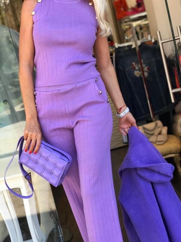 Комплект в лилаво