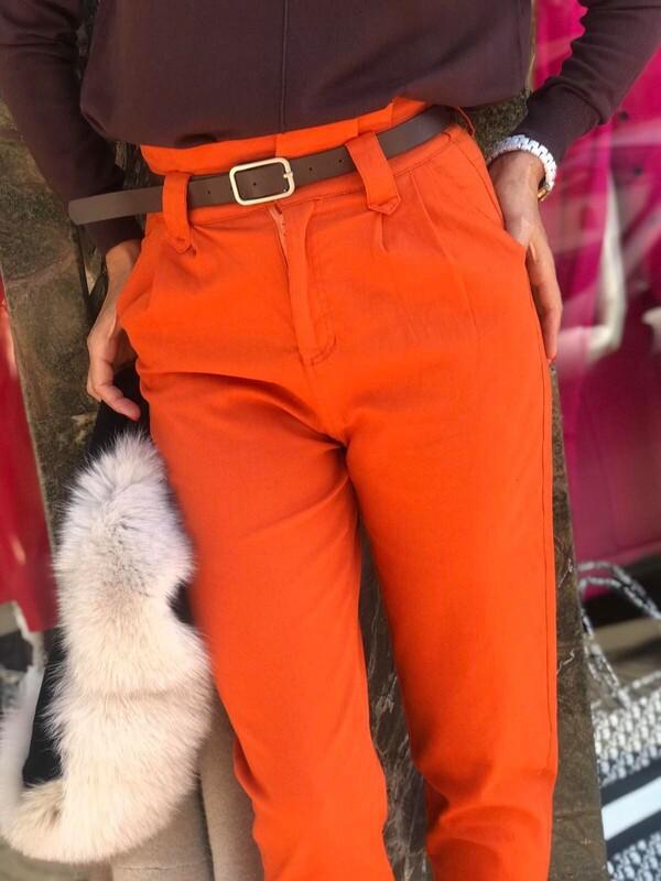 Панталон в оранжево