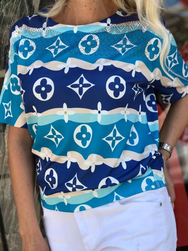 Цветна блуза 4