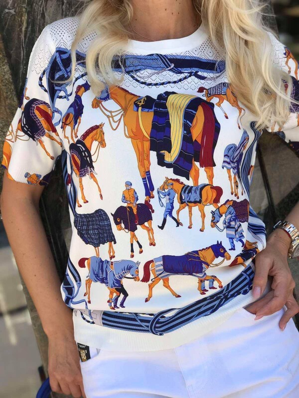 Цветна блуза 9